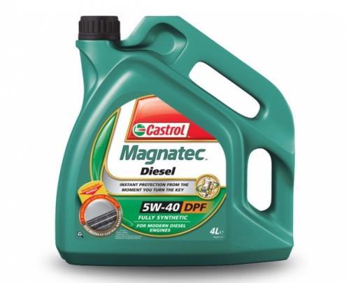Масло моторное - 4 литра Масла И Технологические Жидкости Castrol Magnatec Diesel 5W-40 Dpf C3 Api