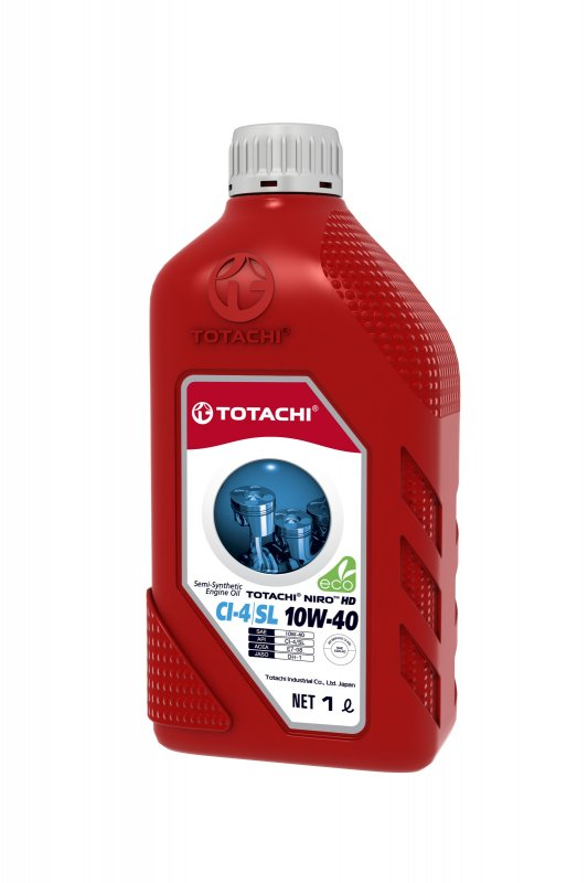 Масло моторное - 1 литр Масла И Технологические Жидкости Totachi Niro Hd Api Ci-4/sl 10W-40