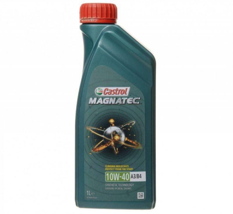 Масло моторное - 1 литр Масла И Технологические Жидкости Castrol Magnatec 10W-40 A3/b4 Sn