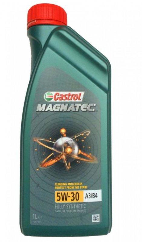 Масло моторное - 1 литр Масла И Технологические Жидкости Castrol Magnatec 5W-30 A3/b3 A3/b4 Api Sl/cf
