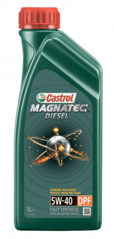Масло моторное - 1 литр Масла И Технологические Жидкости Castrol Magnatec Diesel 5W-40 Dpf C3 Api Sn/cf