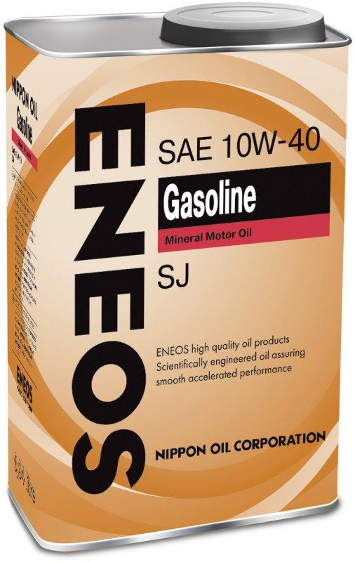 Масло моторное - 1 литр Масла И Технологические Жидкости Eneos Gasoline 10W-40 Sj
