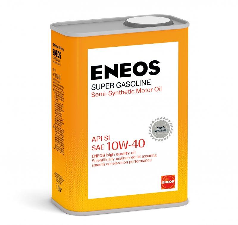 Масло моторное - 1 литр Масла И Технологические Жидкости Eneos Gasoline Super 10W-40 Sl