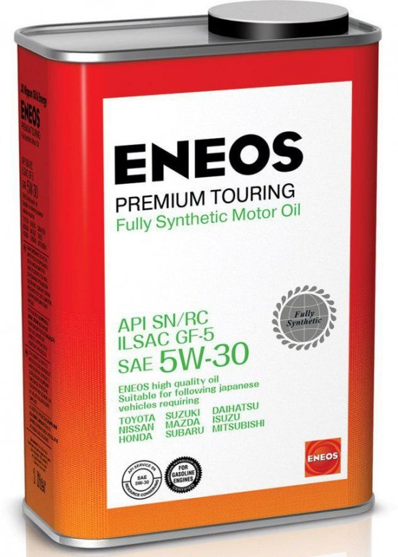 Масло моторное - 1 литр Масла И Технологические Жидкости Eneos Premium Touring Sn 5W-30 Sn