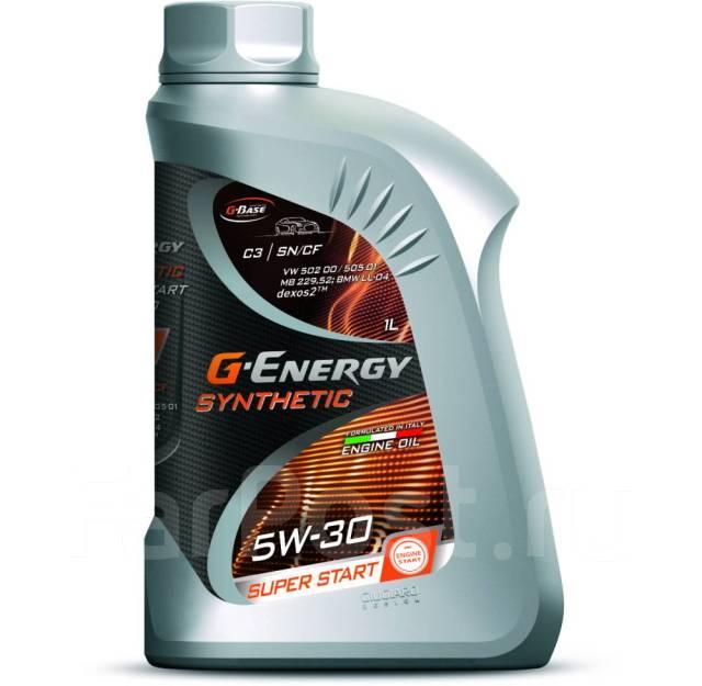 Масло моторное - 1 литр Масла И Технологические Жидкости G-Energy Synthetic Super Start 5W-30