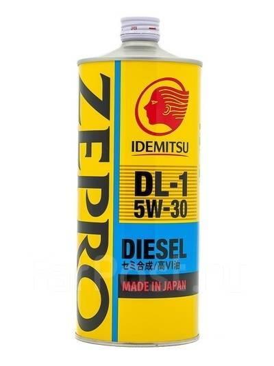 Масло моторное - 1 литр Масла И Технологические Жидкости Idemitsu Zepro Diesel Dl-1 5W-30