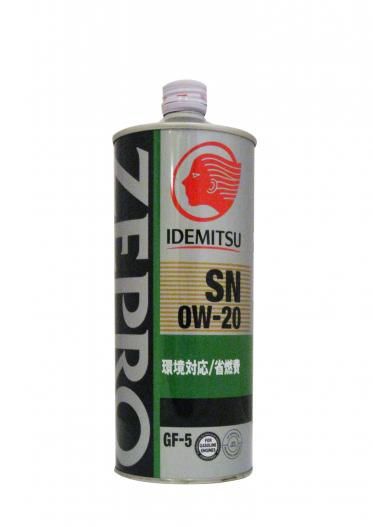 Масло моторное - 1 литр Масла И Технологические Жидкости Idemitsu Zepro Eco Medalist 0W20 Sn/gf-5