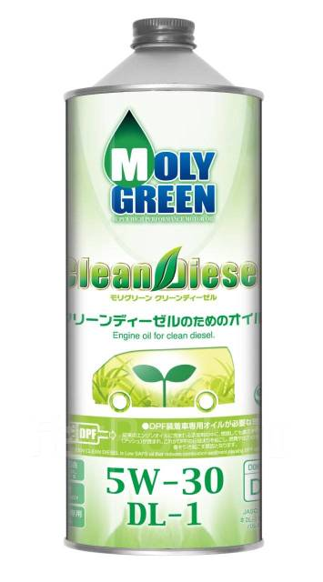Масло моторное - 1 литр Масла И Технологические Жидкости Moly Green Dl-1 5W-30