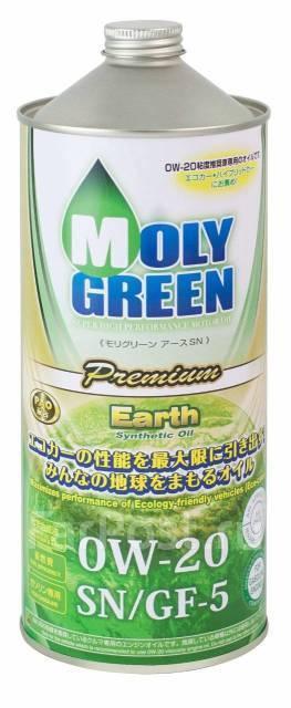 Масло моторное - 1 литр Масла И Технологические Жидкости Moly Green Earth Premium 0W-20 Sn/gf-5