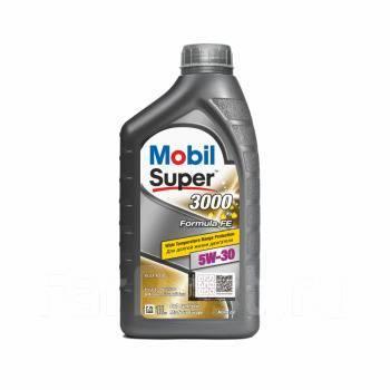 Масло моторное - 1 литр Масла И Технологические Жидкости Mobil Super 3000 X1 Formula Fe 5W-30 Sl/cf