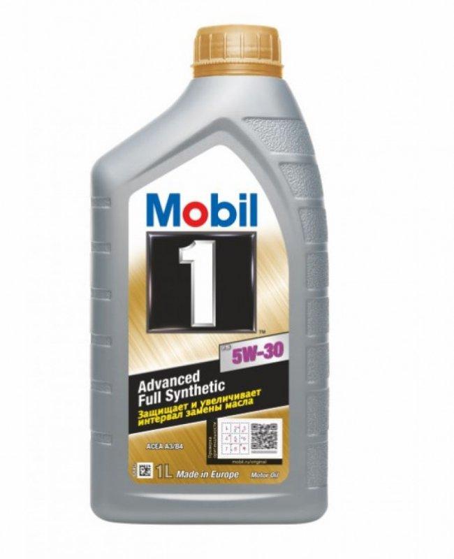Масло моторное - 1 литр Масла И Технологические Жидкости Mobil1 X1 5W-30