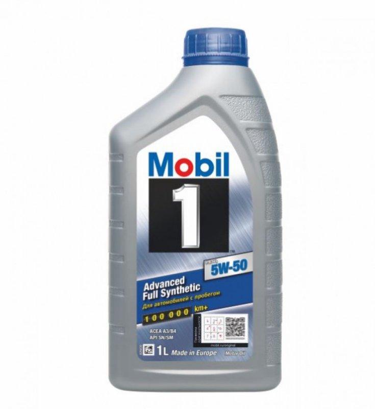 Масло моторное - 1 литр Масла И Технологические Жидкости Mobil1 Fs X1 Sn/sm 5W-50