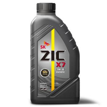 Масло моторное - 1 литр Масла И Технологические Жидкости Zic X7 Ls Sn/cf 5W30