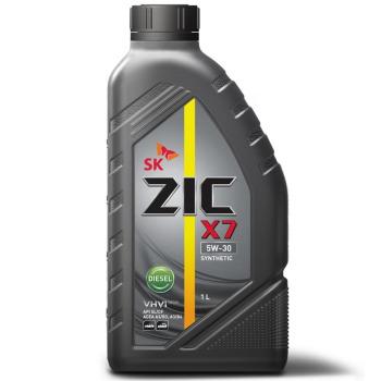 Масло моторное - 1 литр Масла И Технологические Жидкости Zic X7 Diesel 5W30 Sl/sf