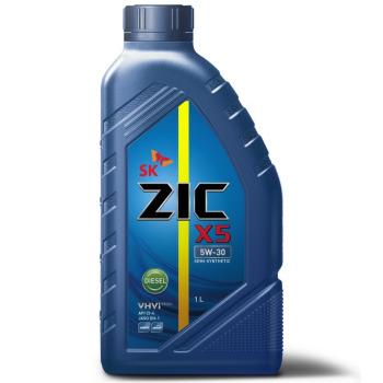Масло моторное - 1 литр Масла И Технологические Жидкости Zic X5 Diesel 5W30 Ci-4