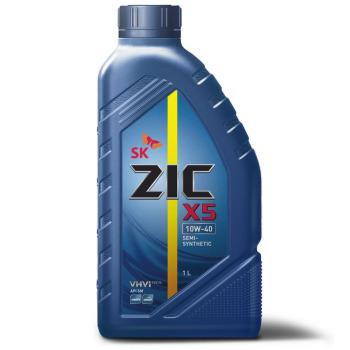 Масло моторное - 1 литр Масла И Технологические Жидкости Zic X5 Sn/sm Plus 10W40