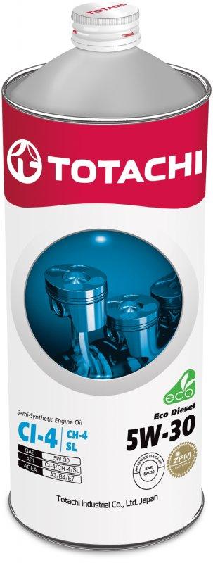 Масло моторное - 1 литр Масла И Технологические Жидкости Totachi Eco Diesel Ci-4 5W-30