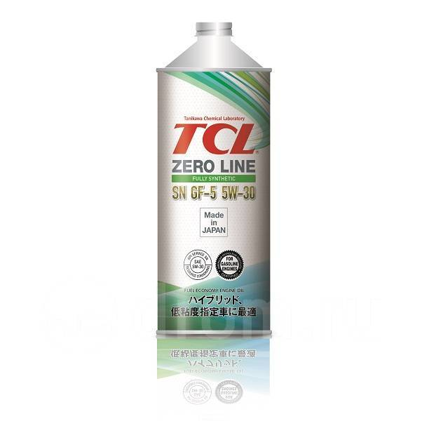 Масло моторное - 1 литр Масла И Технологические Жидкости Tcl Zero Line Sn/cf-5 5W-30