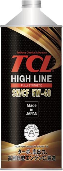Масло моторное - 1 литр Масла И Технологические Жидкости Tcl High Line Sn/cf 5W-40