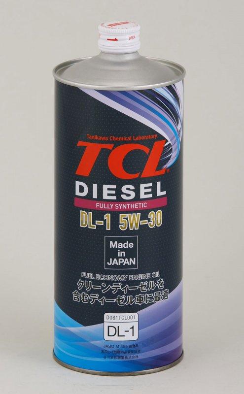 Масло моторное - 1 литр Масла И Технологические Жидкости Tcl Diesel Dl-1 5W-30