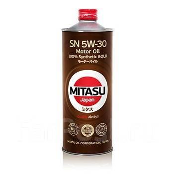 Масло моторное - 1 литр Масла И Технологические Жидкости Mitasu M J-120 Motor Oil 5W-30 Sn Gf-5