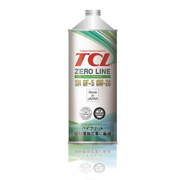 Масло моторное - 1 литр Масла И Технологические Жидкости Tcl Zero Line Sn/cf-5 0W20