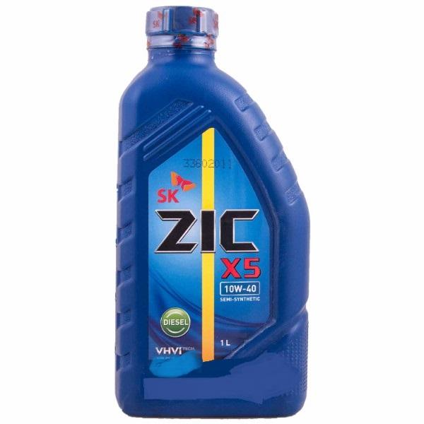 Масло моторное - 1 литр Масла И Технологические Жидкости Zic X5 Diesel 10W40 Ci-4