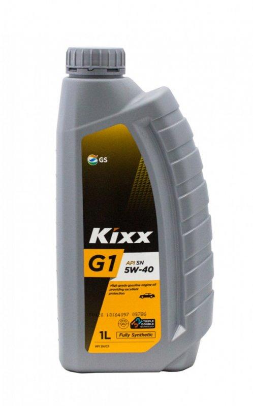 Масло моторное - 1 литр Масла И Технологические Жидкости Kixx G1 5W-40 Sn Plus