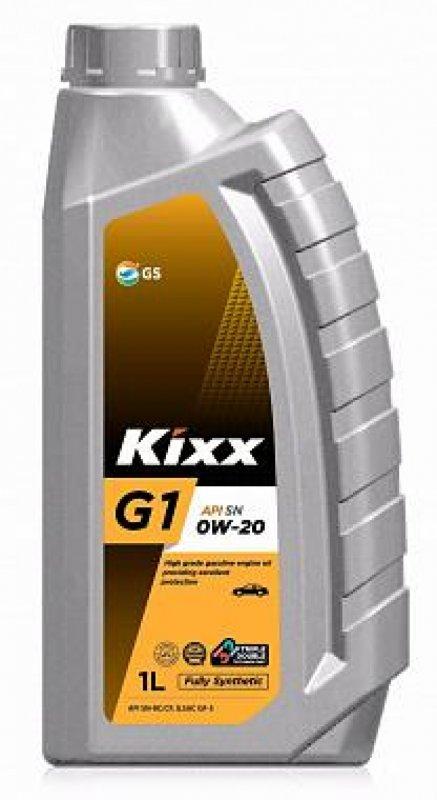 Масло моторное - 1 литр Масла И Технологические Жидкости Kixx G1 0W-20