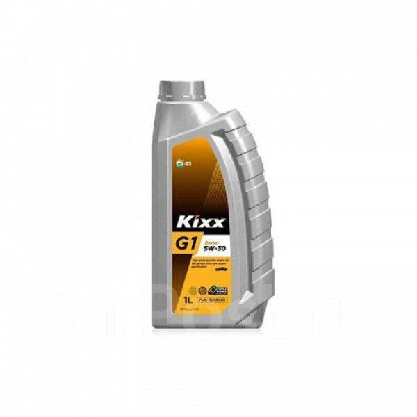 Масло моторное - 1 литр Масла И Технологические Жидкости Kixx G1 5W-30 Sn Plus