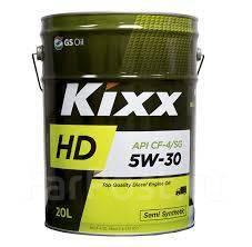 Масло моторное бочка - 205 литров Масла И Технологические Жидкости Kixx Hd 5W-30 Cf-4 Sg 20Л