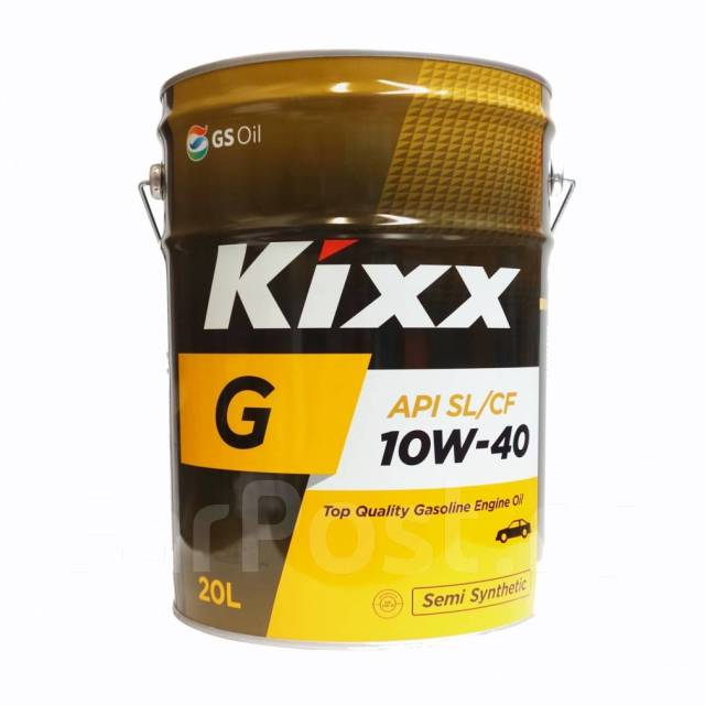 Масло моторное бочка - 205 литров Масла И Технологические Жидкости Kixx G 10W-40 Sl Cf