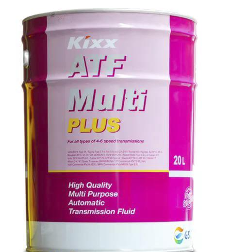 Жидкость для акпп бочка - 60 литров Масла И Технологические Жидкости Акпп Kixx Multi Atf