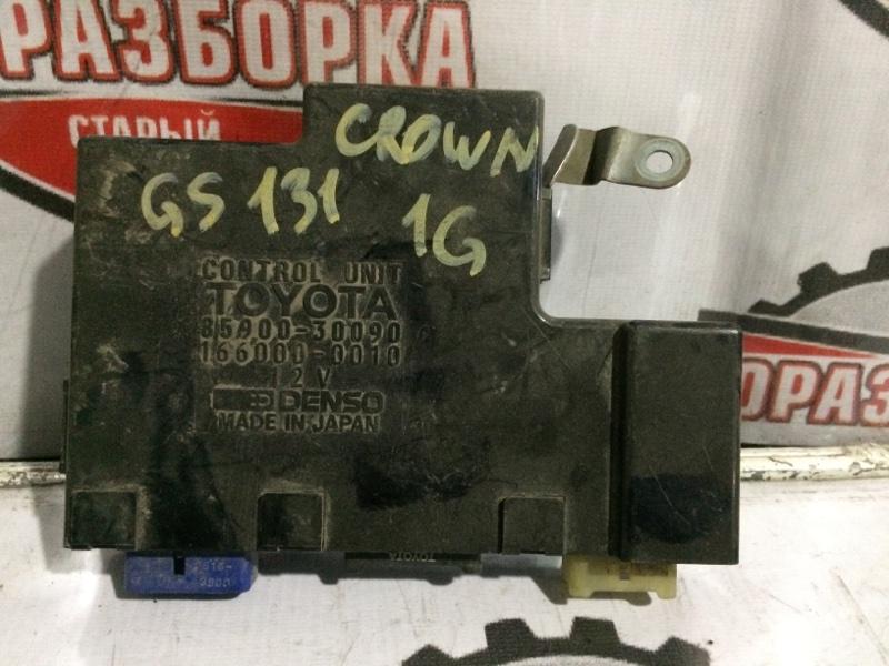Блок управления климат-контролем Toyota Crown GS131 (б/у)