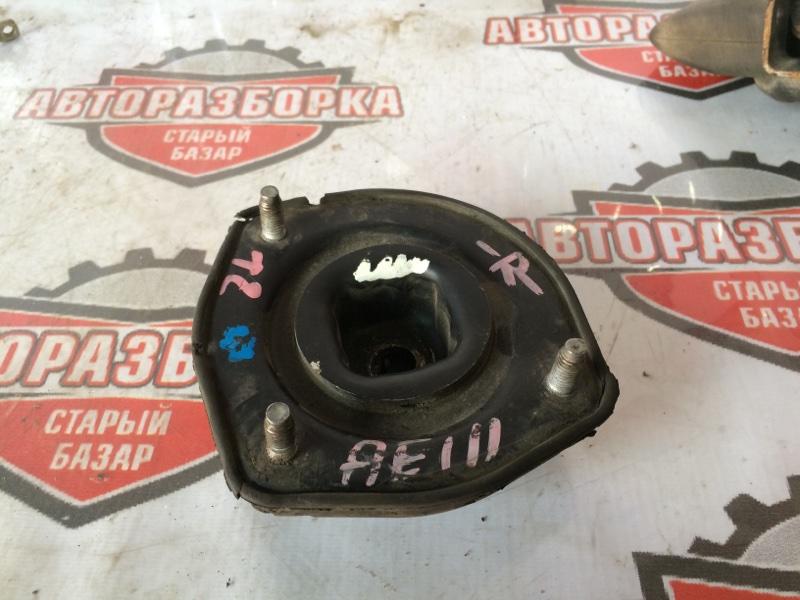 Опора стойки Toyota Sprinter Carib AE111 4AFE 1998 задняя правая (б/у)