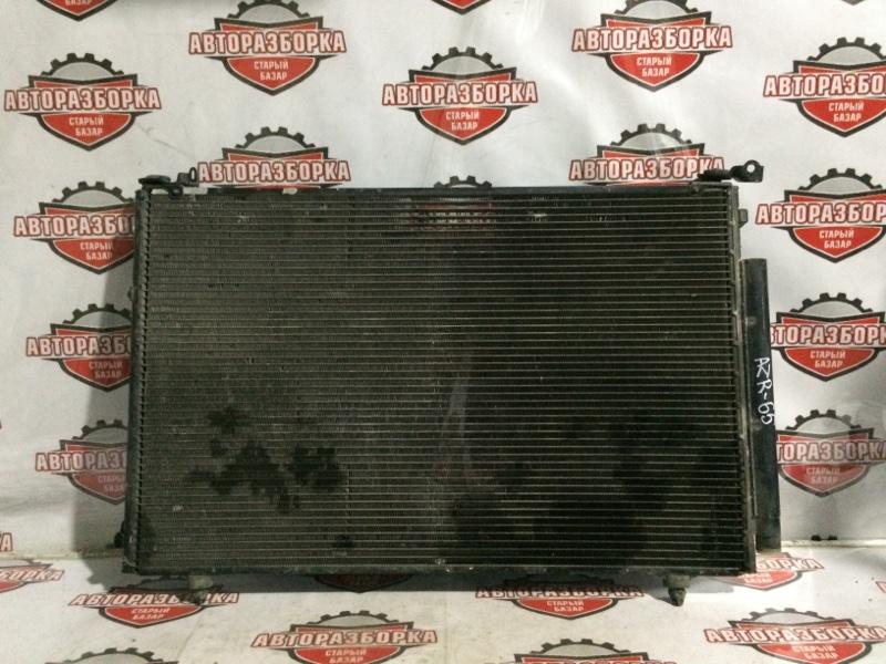 Радиатор кондиционера Toyota Noah AZR60 1AZFSE 2002 передний (б/у)