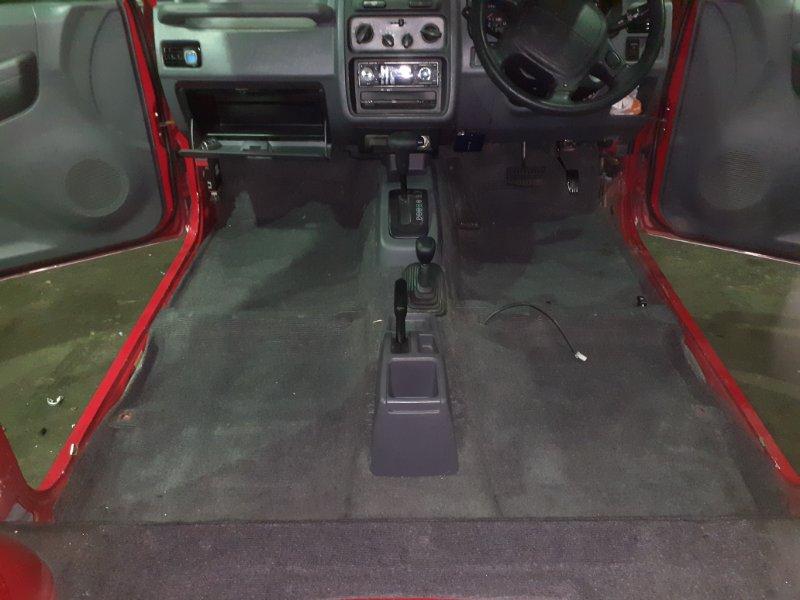 Ковер салона Mitsubishi Pajero Mini H56A 4A30 1996 (б/у)
