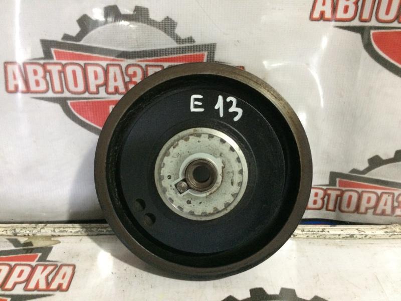 Шкив коленвала Nissan E13 (б/у)