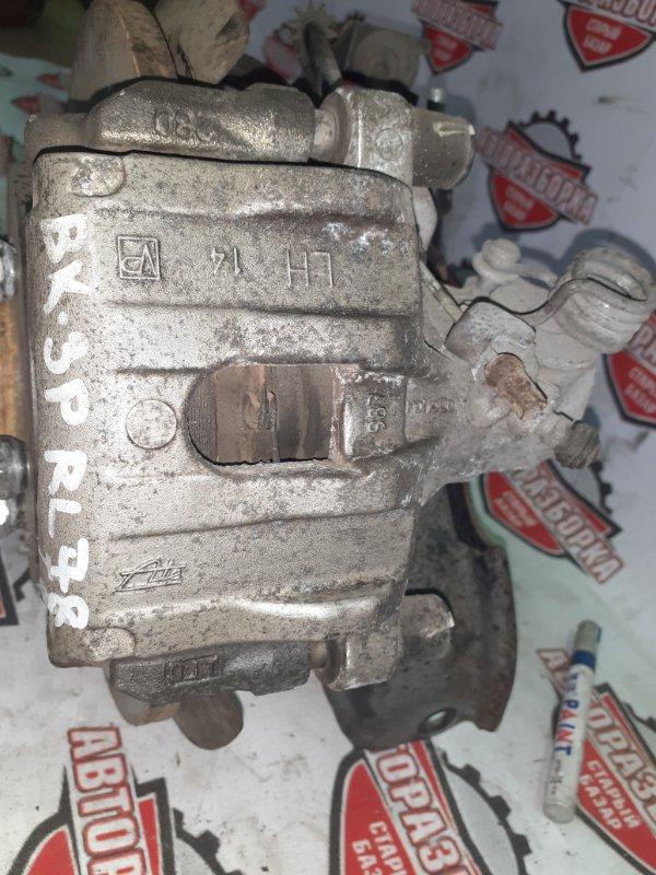 Суппорт тормозной Mazda Axela BK3P L3VE 2006 задний левый (б/у)