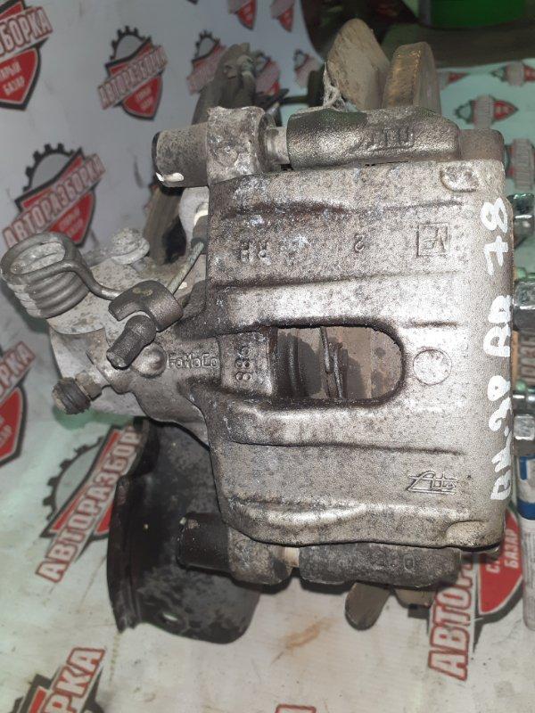 Суппорт тормозной Mazda Axela BK3P L3VE 2006 задний правый (б/у)