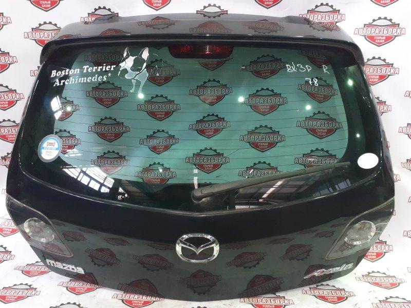 Дверь багажника Mazda Axela BK3P L3VE 2006 задняя (б/у)