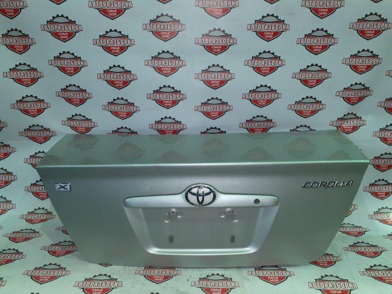 Крышка багажника Toyota Corolla NZE121 1NZ-FE 2001 задняя (б/у)