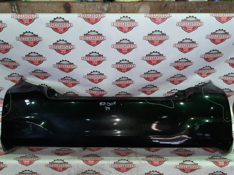 Бампер Toyota Vitz NSP130 1NRFE 2011 задний (б/у)