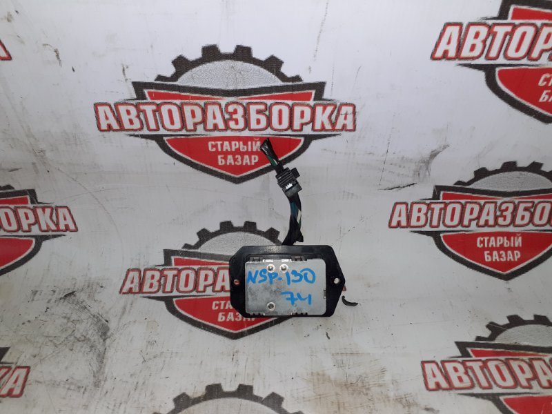 Реостат печки Toyota Vitz NSP130 1NRFE 2011 (б/у)