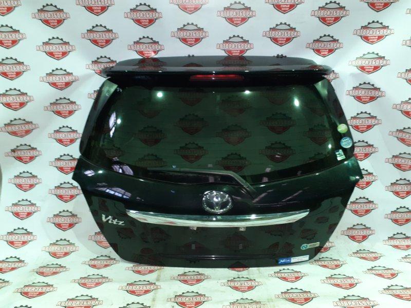 Дверь багажника Toyota Vitz NSP130 1NRFE 2011 задняя (б/у)