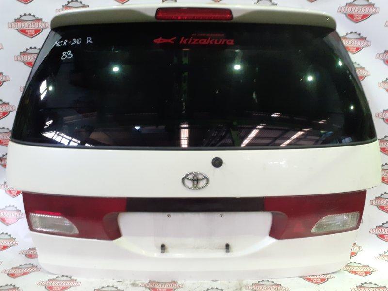 Дверь багажника Toyota Estima MCR30 1MZ-FE 2001 задняя (б/у)