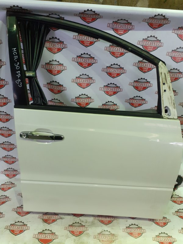 Дверь Toyota Estima MCR30 1MZ-FE 2001 передняя правая (б/у)