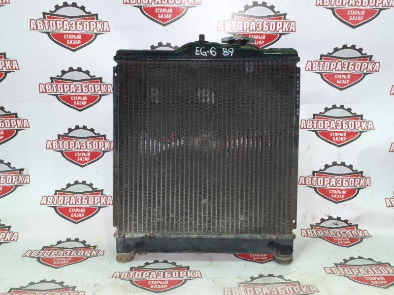 Радиатор охлаждения двигателя Honda Civic EG6 B16A (б/у)