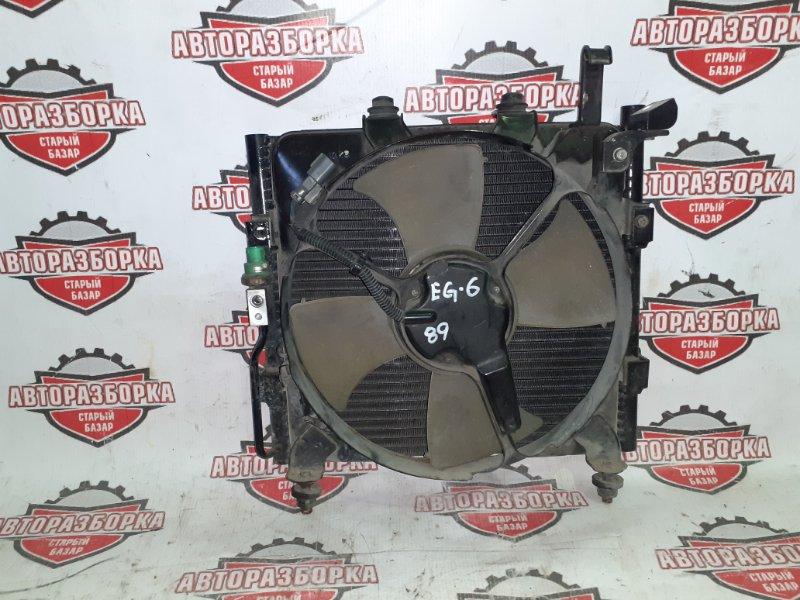 Радиатор кондиционера Honda Civic EG6 B16A (б/у)