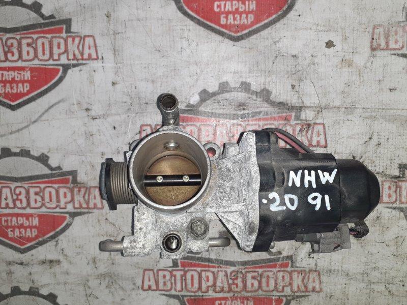 Дроссельная заслонка Toyota Prius NHW20 1NZ-FXE 2010 (б/у)